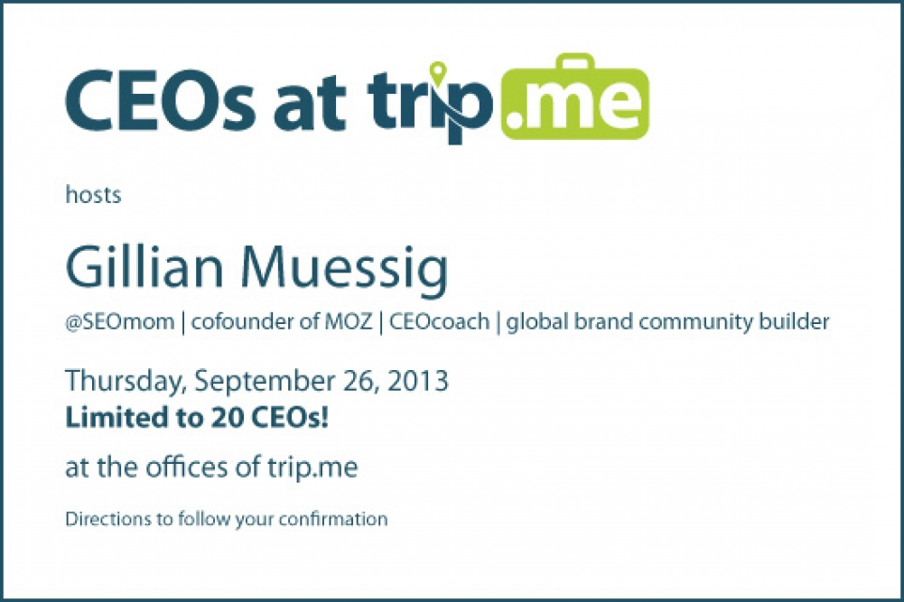 Berlin StartUp CEOs at trip.me #CEOsatTM
