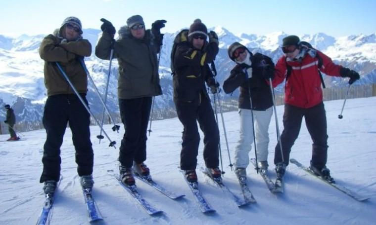 Skiing travel blog