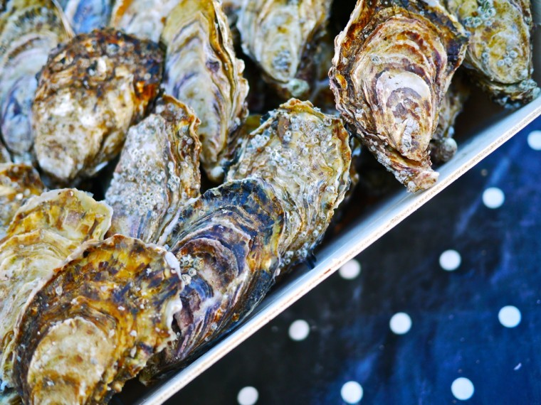 Oysters at Duke of York Square, Chelsea