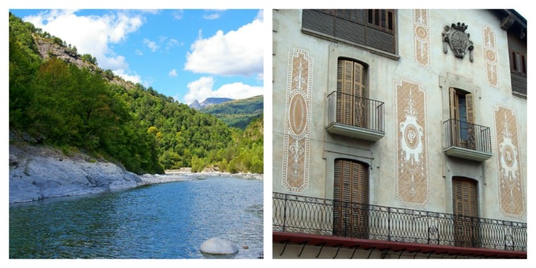 Pyrenees Spanish towns