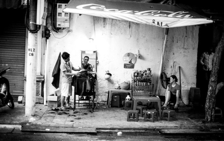 Hanoi hairdressers