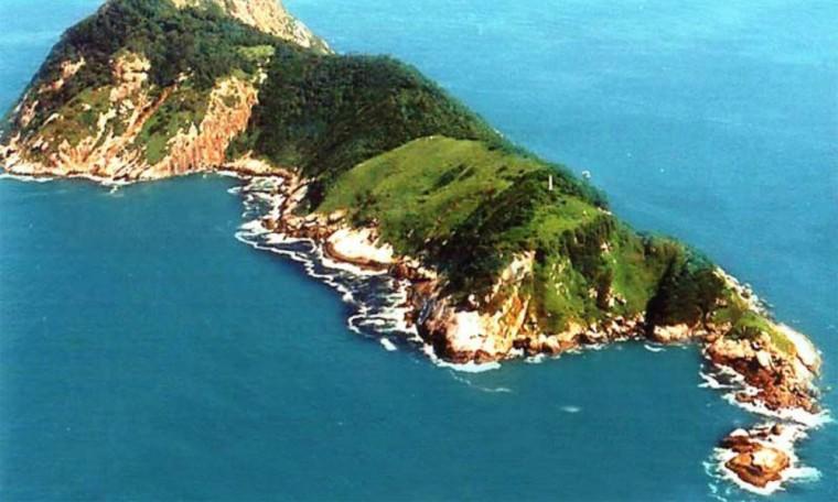 Snake Island aerial