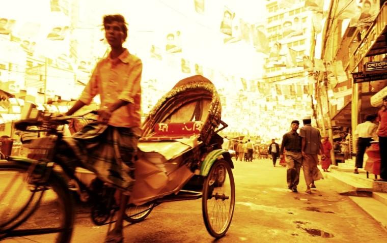 rickshaw scams