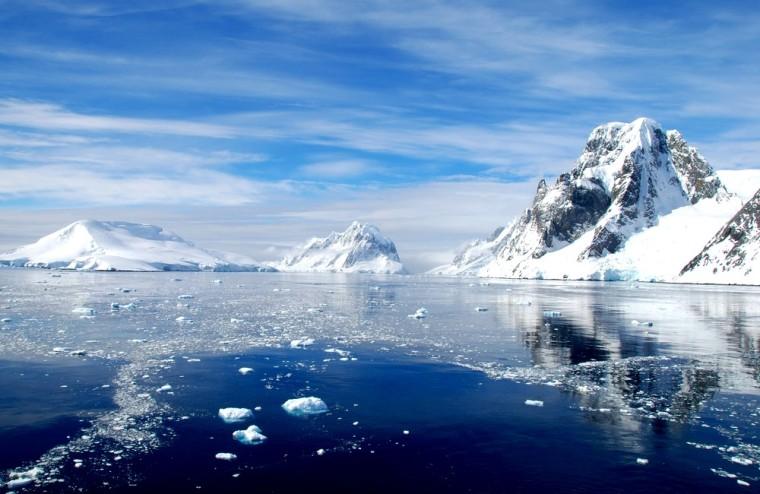 vast Antarctica