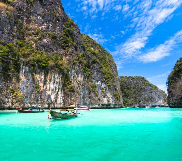 Thai Island Koh Phi Phi: 24 Amazing Photos Of Southeast Asia